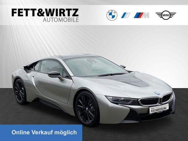 BMW i8 Coupe Laser HUD H/K 20'' Leas. 799,- br.o.Anz., Jahr 2019, Hybrid