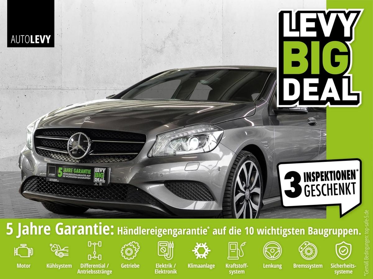 Mercedes-Benz A200 Urban NAVI*ALLWETTER*PDC v.+h.*BI-XENON*SHZ, Jahr 2014, Benzin