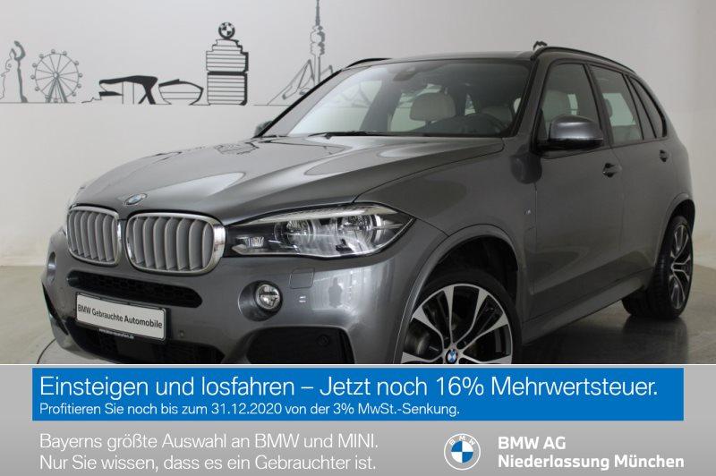 BMW X5 xDrive40d Sportpaket Head-Up HK HiFi LED RFK EURO 6, Jahr 2018, Diesel