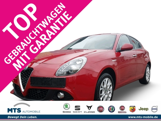 Alfa Romeo Giulietta SUPER 1.4 TB 16V 88kW (120 PS) Sitzheizung, Parksensoren, Jahr 2016, Benzin