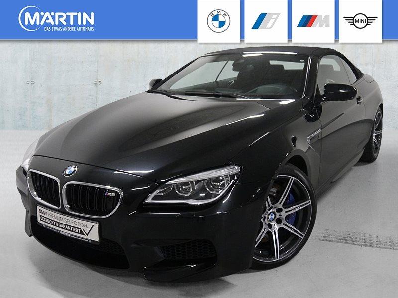 BMW M6 Cabrio *Night Vision*Head-Up*HK-HiFi*DAB*LED*, Jahr 2018, Benzin