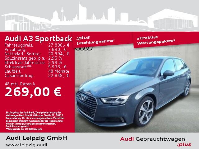 Audi A3 Sportback 1.4 TFSI e-tron sport *LED*Navi*, Jahr 2018, Hybrid