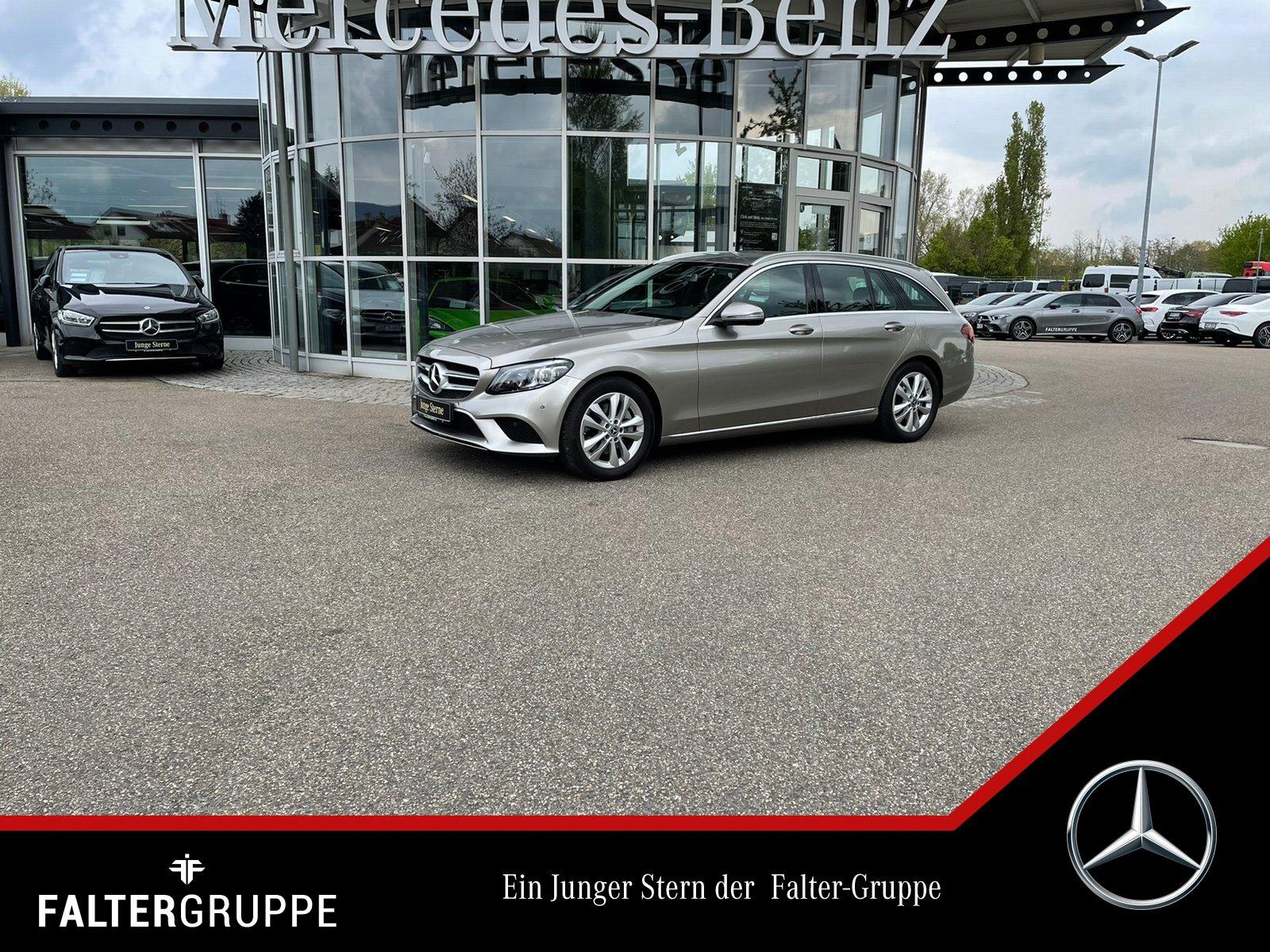 Mercedes-Benz C 300 T Avantg DISTRO Kamera AHK MLED el.Heckkl, Jahr 2019, Benzin