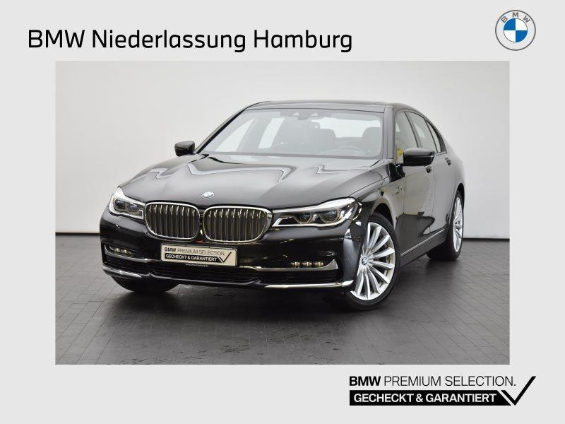 BMW 730d Limousine Ferngesteuertes Parken Head-Up, Jahr 2017, Diesel