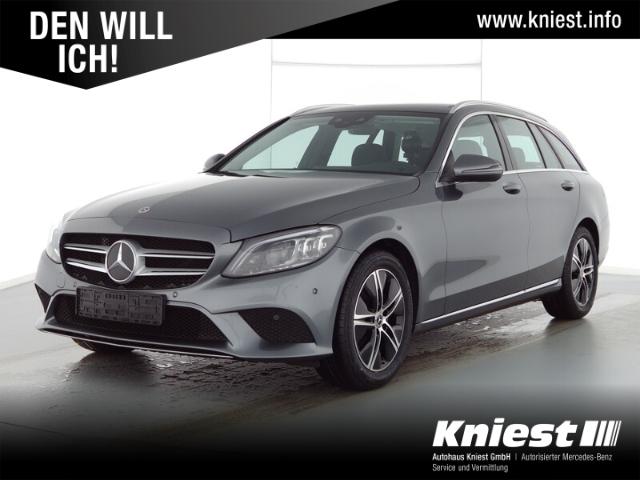 Mercedes-Benz C 180 T Avantgarde+Pano-Dach+AHK+Multibeam+High-End Info, Jahr 2021, Benzin
