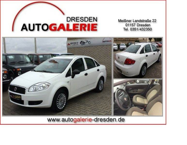 Fiat Linea 1.4 8V Active LPG *AutoGas*PDC*Audio, Jahr 2013, Benzin