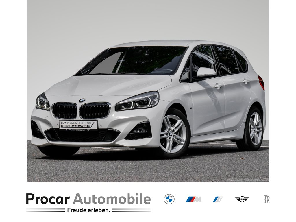 BMW 218d +ACTIVE TOURER+M-SPORT+LED+RÜCKFAHRKAMERA+NAVI++, Jahr 2019, Diesel
