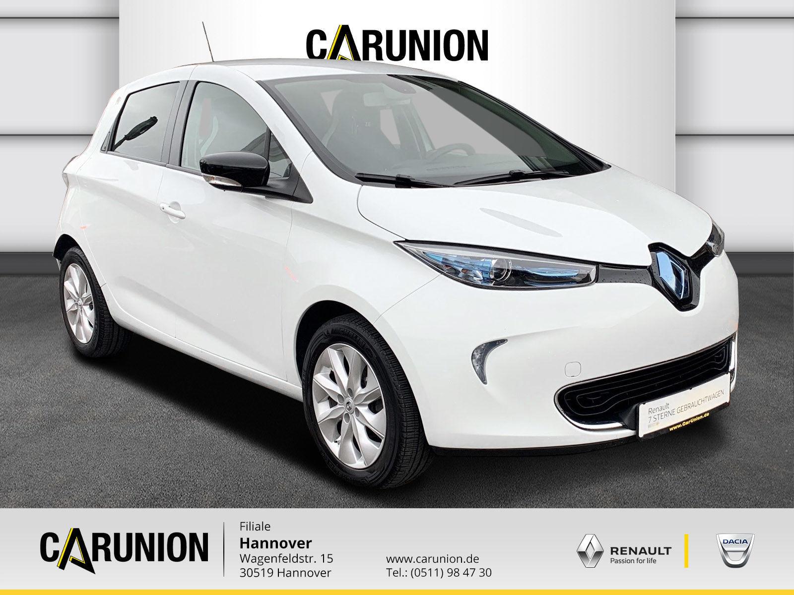 Renault ZOE (ohne Batterie)22 Kw Intens, Jahr 2016, Elektro