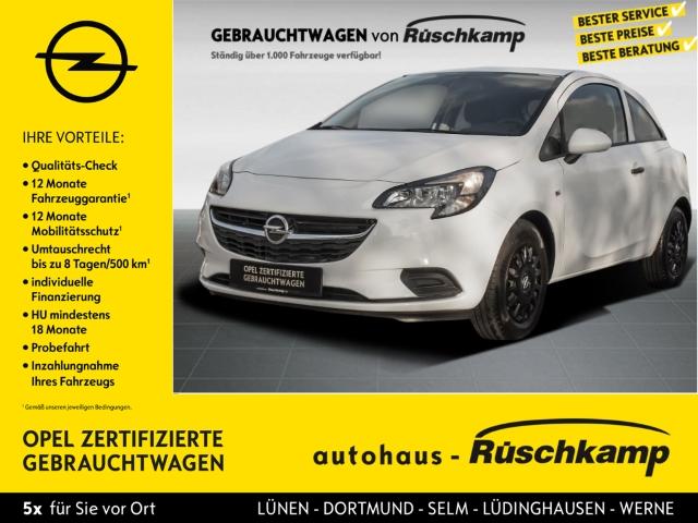 Opel Corsa E 1.2 Sel. RDC Klima AUX ESP Seitenairb. Radio TRC Airb ABS, Jahr 2016, Benzin