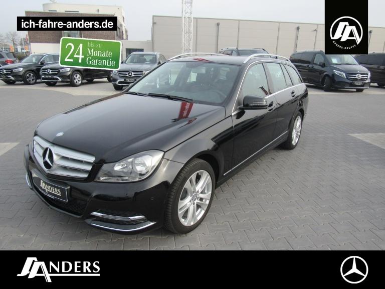 Mercedes-Benz C 180 BE T Avantgarde+AHK+Navi+SHZ+PDC+Spiegel-, Jahr 2013, Benzin