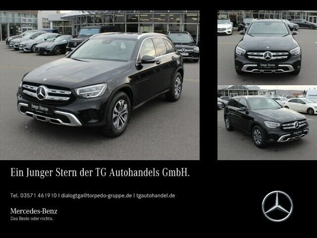 Mercedes-Benz GLC 200 4M *FACELIFT* KAMERA+NAVI+LED+APPLE-CAR, Jahr 2019, petrol