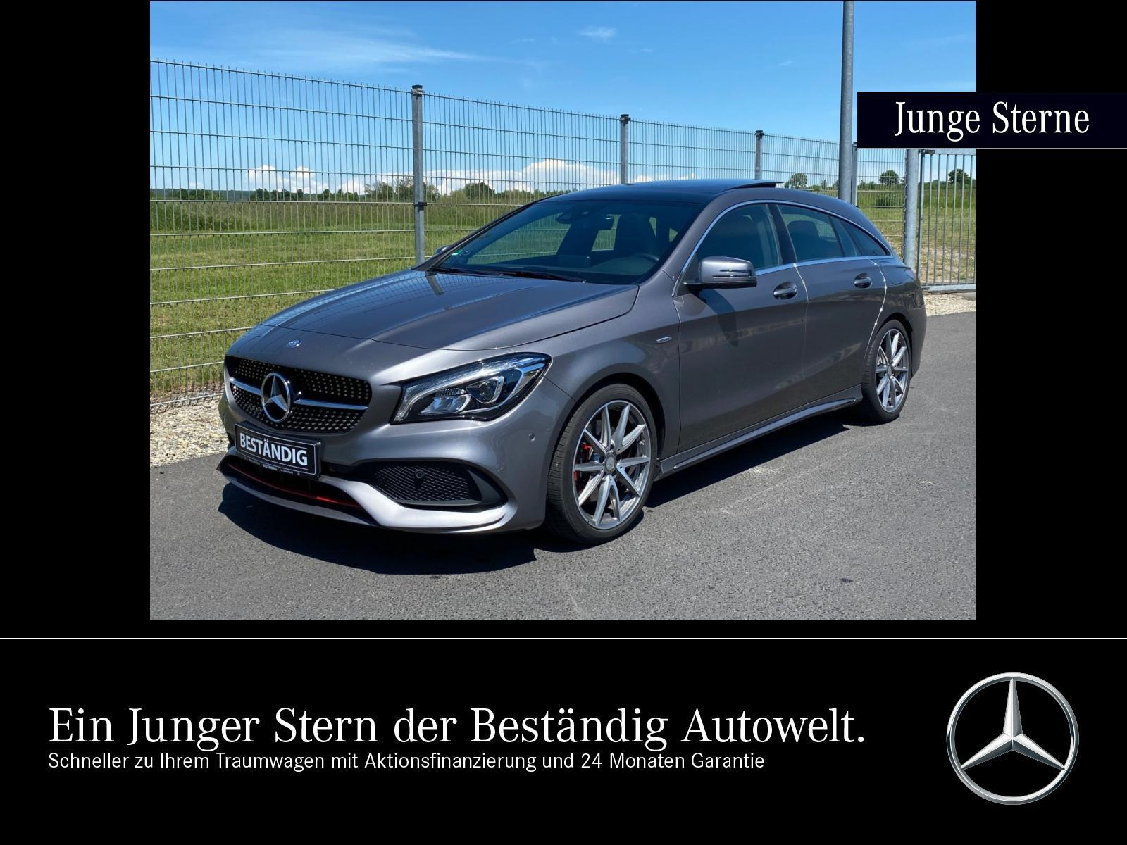 Mercedes-Benz CLA 250 Sport 4M SB AMG+LED+PANO+EASY-PACK+NAVI+, Jahr 2017, Benzin
