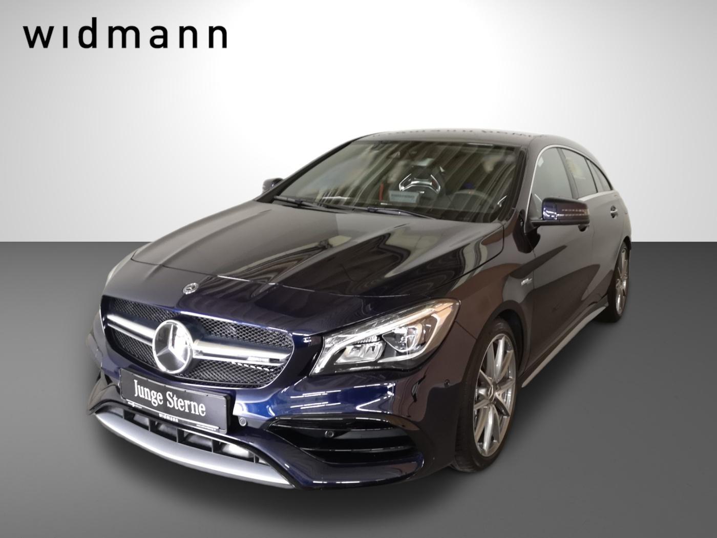 Mercedes-Benz CLA 45 AMG 4M SB Perf.-AbGas*Nav, Jahr 2018, Benzin