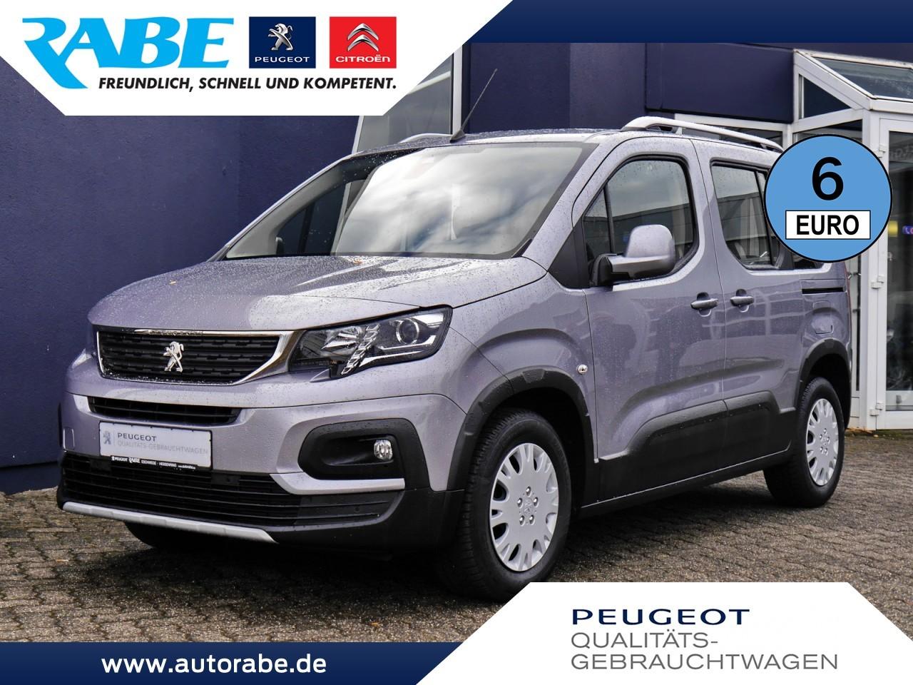 Peugeot Rifter Allure 100 BlueHDi Klimaaut.+DAB+PDC+Alu, Jahr 2018, Diesel