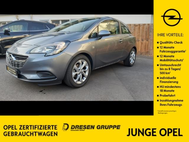 Opel Corsa E Edition 1.4 KLIMA/INTELLILINK/PDC v+h/SHZ/LHZ/WSS BEHEIZBAR, Jahr 2019, Benzin