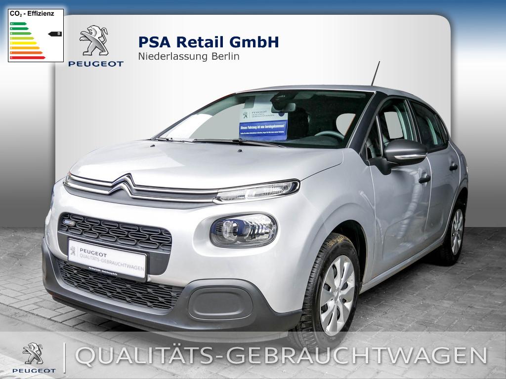 Citroën C3 PureTech 68 Live, Jahr 2017, Benzin