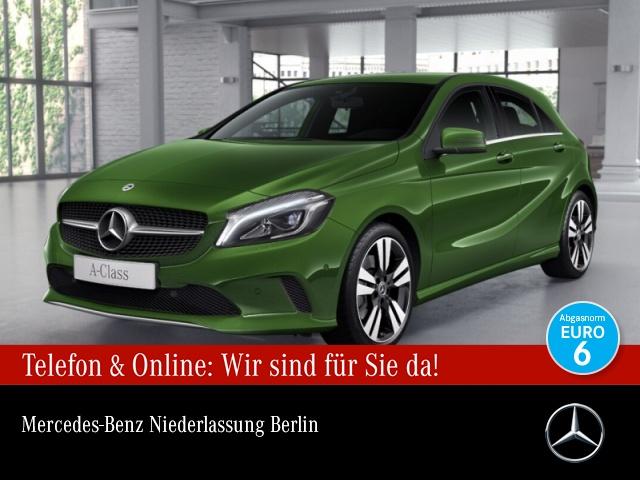 Mercedes-Benz A 220 4M Stdhzg LED Kamera Navi Spurhalt-Ass PTS, Jahr 2017, Benzin