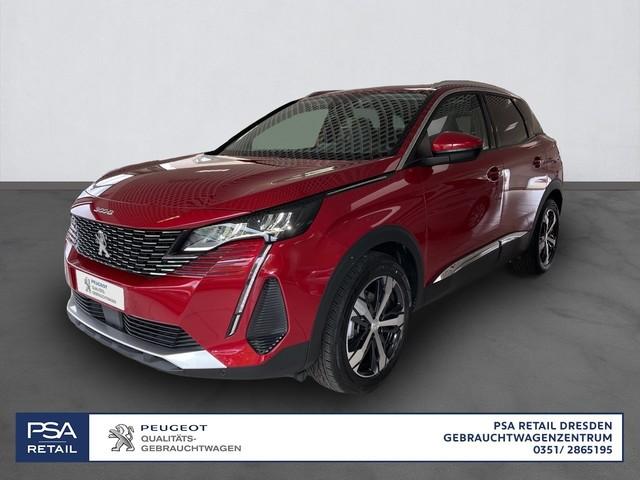 Peugeot 3008 PureTech 180 S&S EAT8 Allure/ LED/ SHZ/ Glasdach/Kamera, Jahr 2021, Benzin