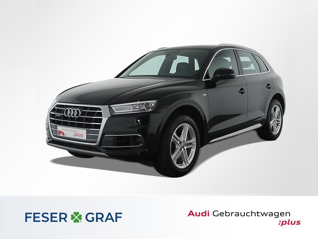 Audi Q5 3.0 TDI S Line Navi,Leder,Kamera,AssistenzP., Jahr 2018, Diesel