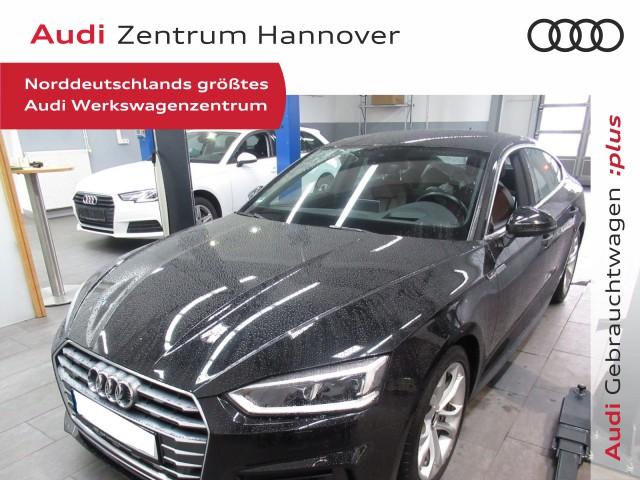 Audi A5 Sportback 2.0 TDI design, HuD, Matrix, ACC, virtual, Leder, DAB, Jahr 2017, Diesel
