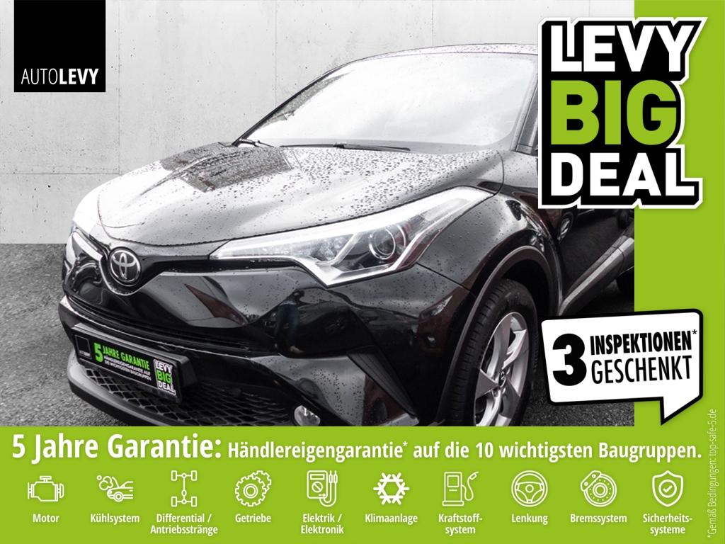 Toyota C-HR 1.2 FLOW *NAVI*TOTWINKEL*KAMERA*DAB*, Jahr 2017, Benzin
