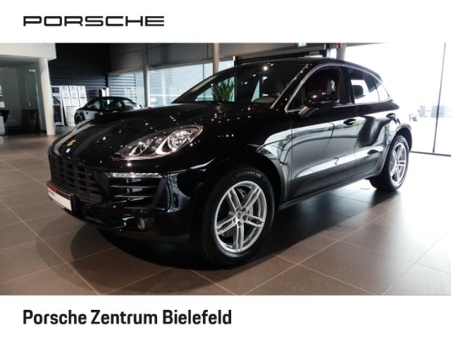 Porsche Macan S Diesel Leder Navi e-Sitze Allrad El. Heckklappe PDCv+h Alarm Klimaautom SHZ, Jahr 2014, Diesel