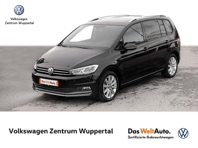 Volkswagen Touran 1 6 TDI United DSG NAVI PANO APP KAMERA SHZ PDC LM, Jahr 2020, Diesel