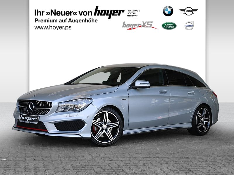 Mercedes-Benz CLA 250 Shooting Brake 4Matic 7G-DCT Sport RFK, Jahr 2016, Benzin