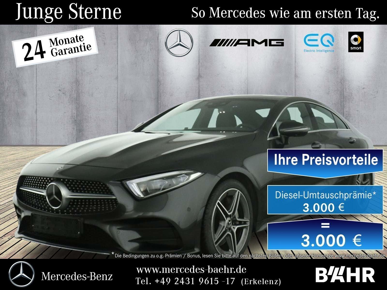 Mercedes-Benz CLS 400 d 4M AMG/Comand/Multibeam/Distronic/360°, Jahr 2020, Diesel