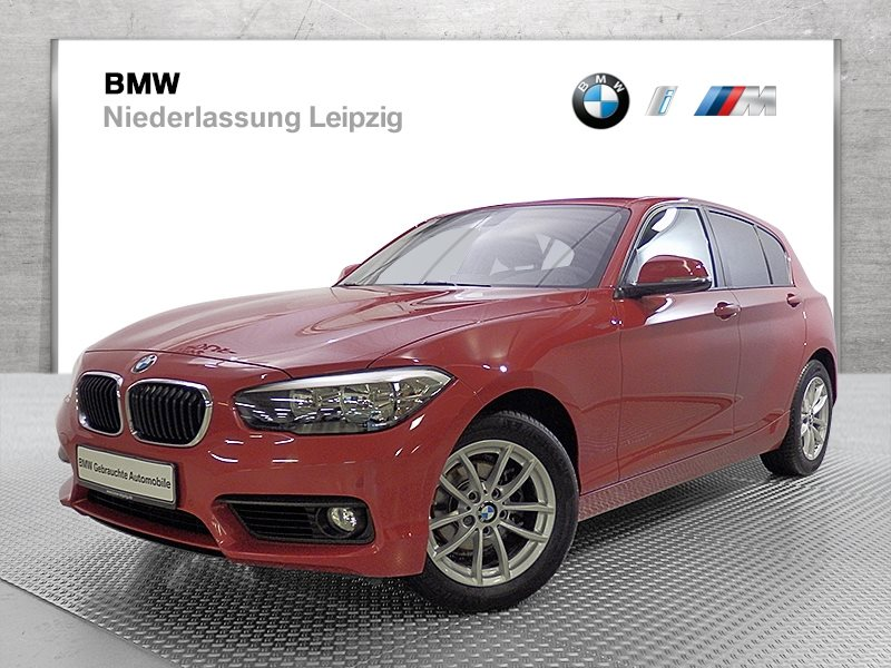 BMW 118d 5-Türer EURO6 Advantage Tempomat USB PDC, Jahr 2017, Diesel