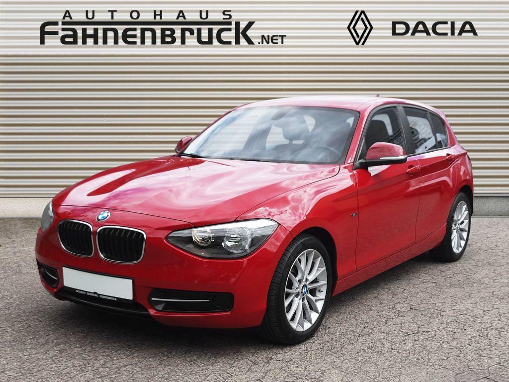 BMW 116 d Aut. Sport Line ABS Fahrerairbag Seitenair, Jahr 2014, Diesel