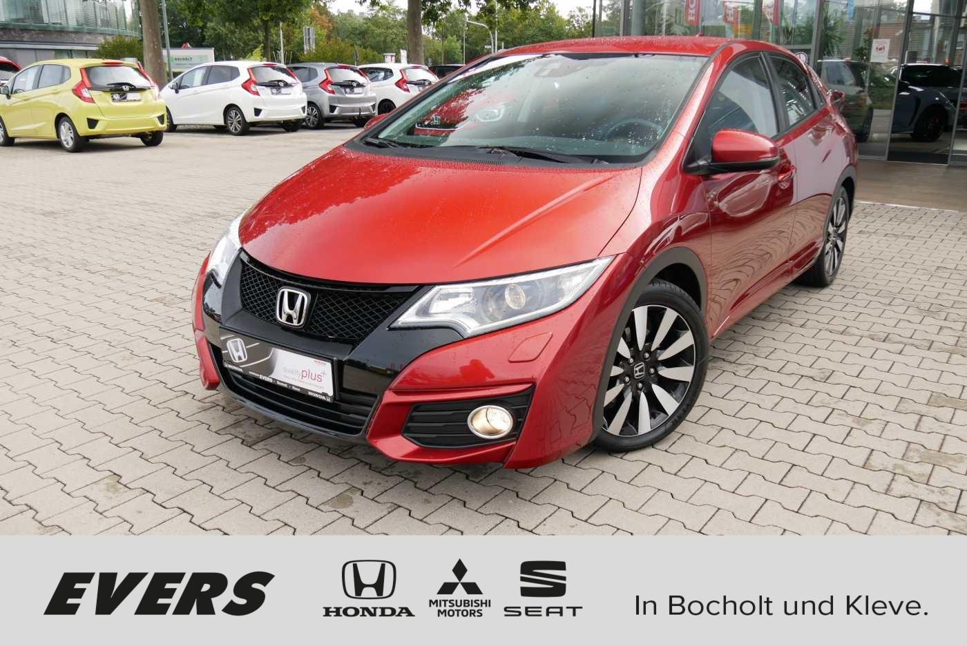 Honda Civic 1.4 i-VTEC Elegance SHZ+TEMPOMAT+24M.GAR, Jahr 2015, Benzin