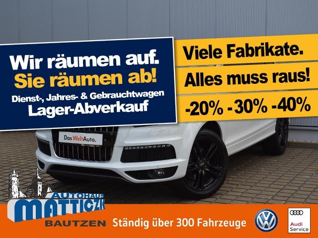 Audi Q7 3.0 TDI DPF quattro Tiptr. S-LINE+EXTERIEUR+S, Jahr 2015, diesel