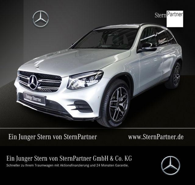 Mercedes-Benz GLC 300 4M AMG LINE+COMAND+LED+NIGHT+KAMERA+AHK, Jahr 2018, petrol