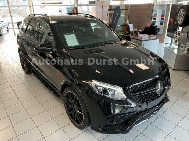 Mercedes-Benz GLE 63 AMG 4M, COMAND, ILS, AHK, HARMANN, DISTR, Jahr 2016, Benzin