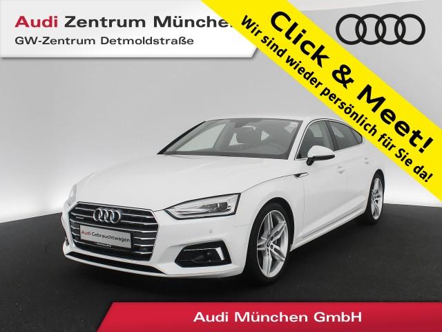 "Audi A5 Sportback 40 TDI qu. Sport Assistenz Navi Xenon PDCplus 19"" S tronic, Jahr 2019, diesel"