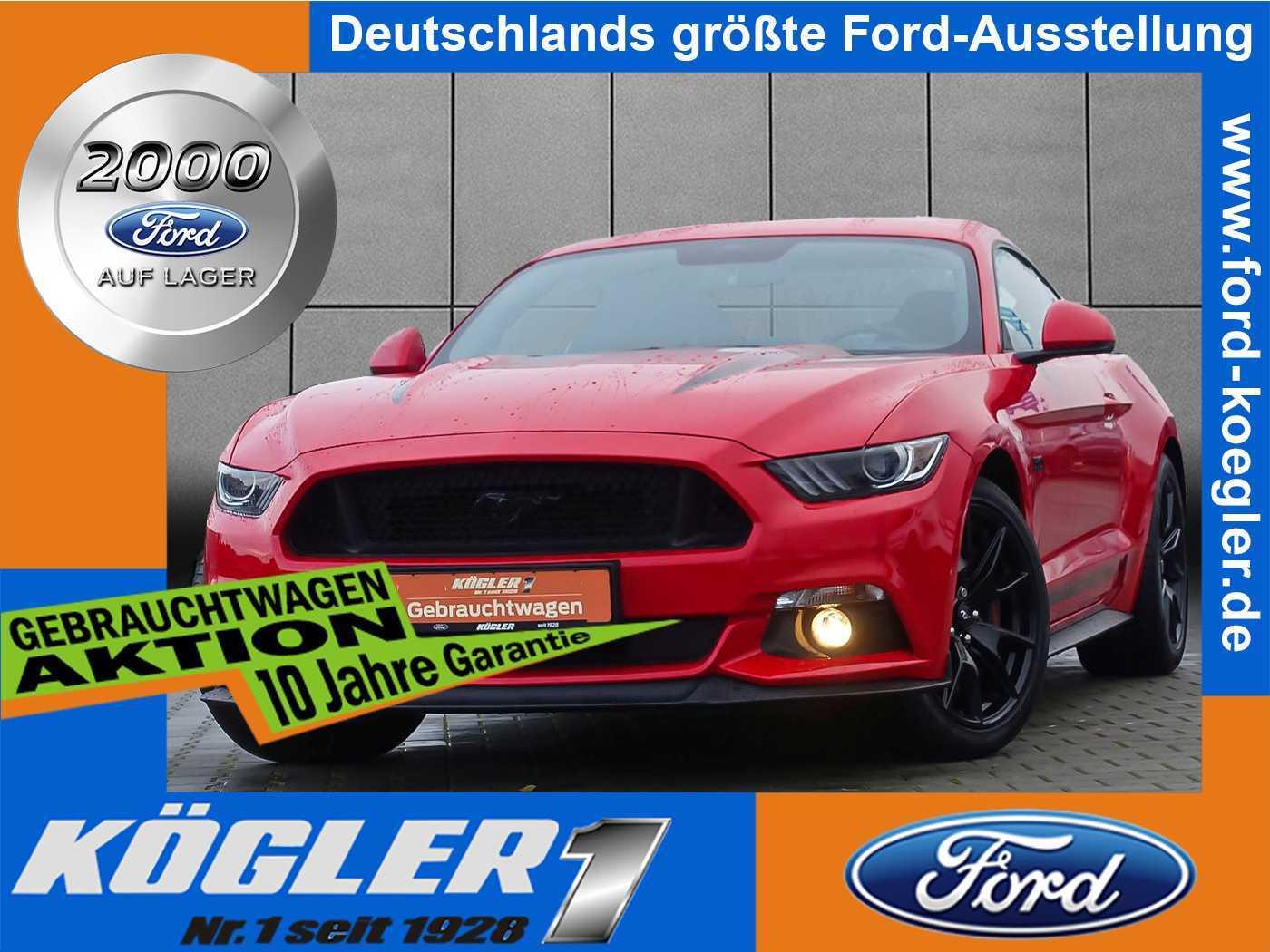 Ford Mustang Fastback GT 5.0/Navi/PDC, Jahr 2017, Benzin