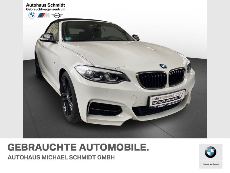 BMW M240i M SPORTPAKET+MEMORY+DAB+WLAN+HARMAN KARDON+, Jahr 2020, Benzin