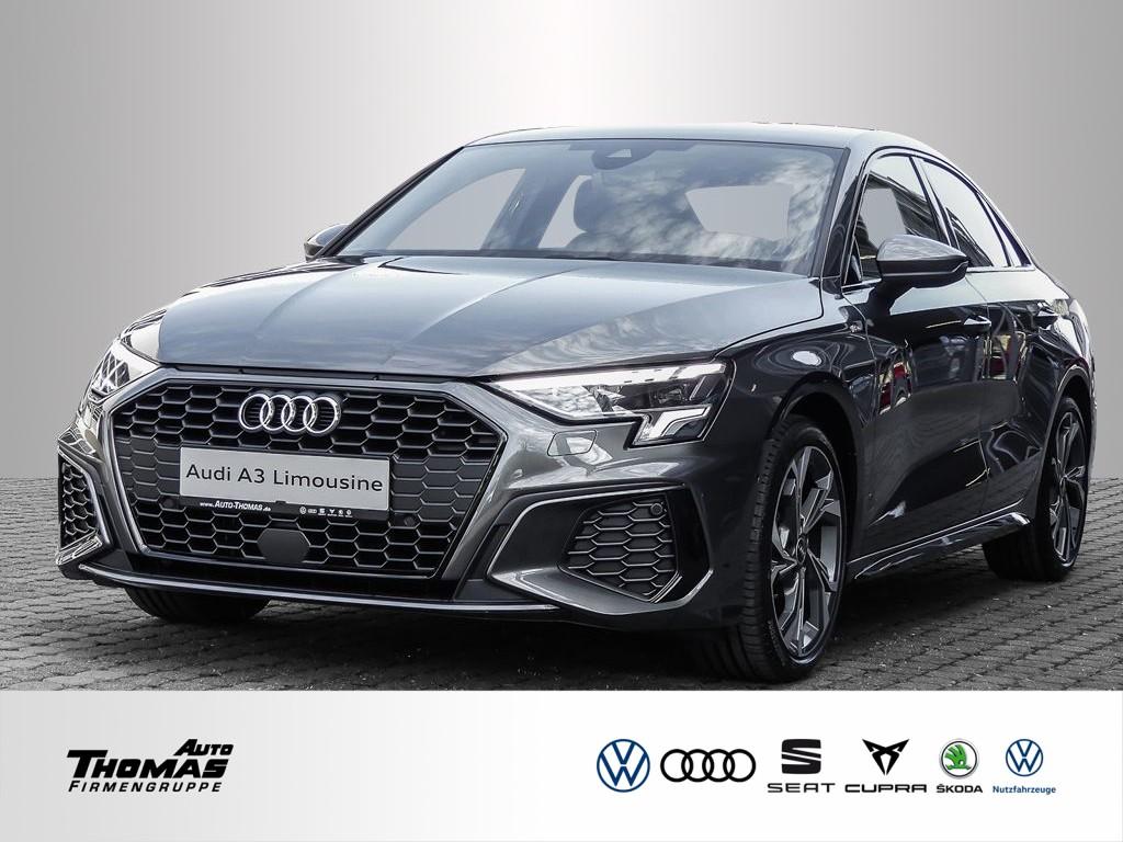Audi A3 Lim. 35 TFSI S line+SMARTPHONE INTERFACE+LED, Jahr 2021, Benzin