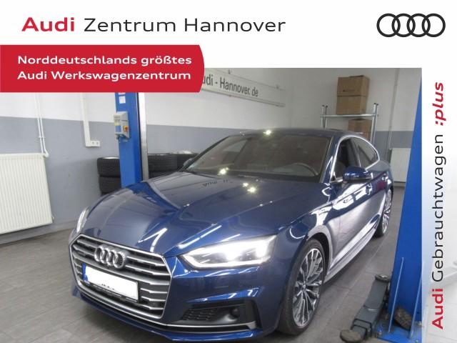 Audi A5 Sportback 3.0 TDI qu. S-line+HuD+Standh.+Matrix+ACC+virtual+Alcantara, Jahr 2017, Diesel