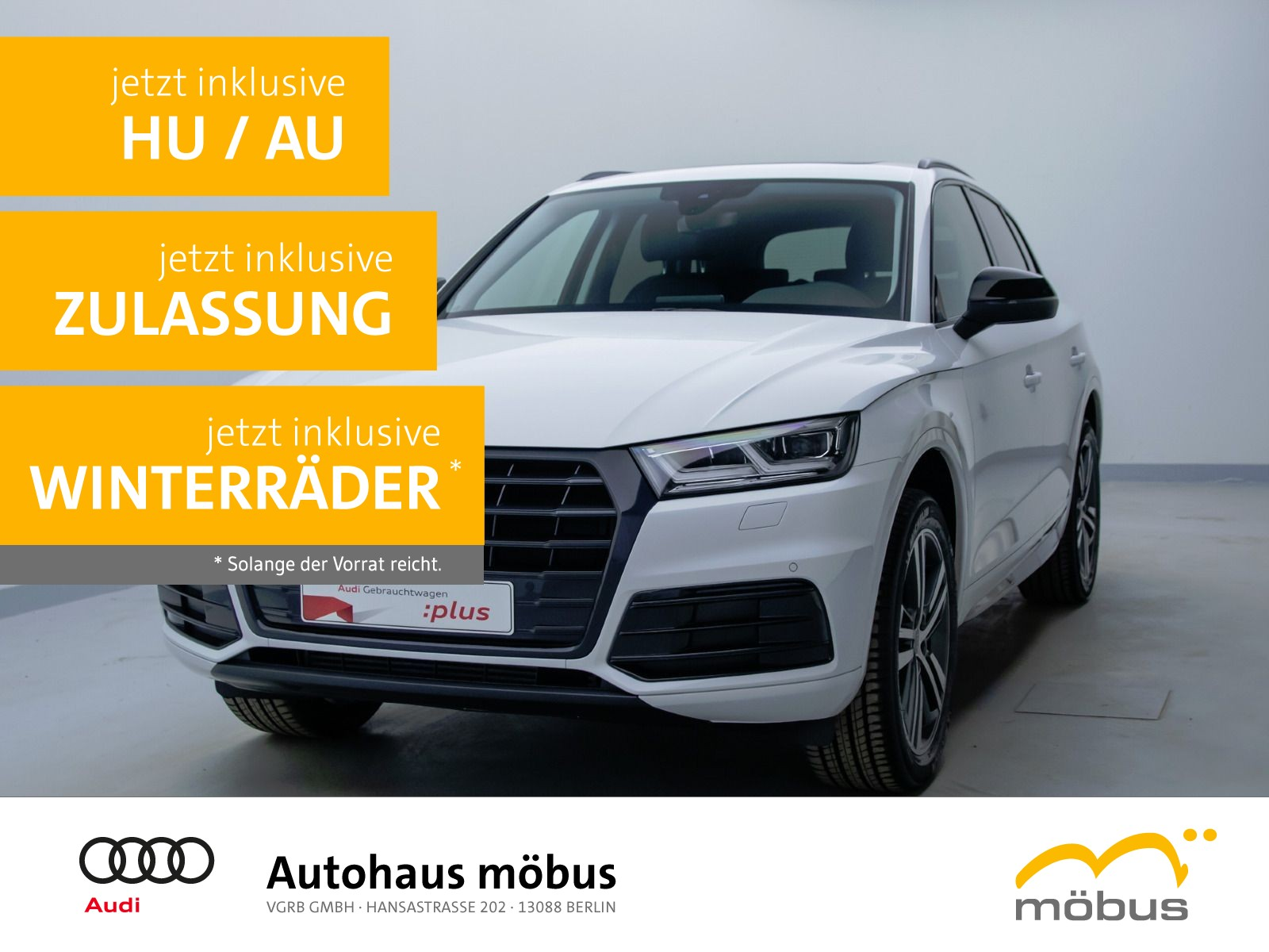 Audi Q5 design 45 TFSI QU*S-TRO*PANO*LEDER*ASSIST*LED, Jahr 2020, Benzin