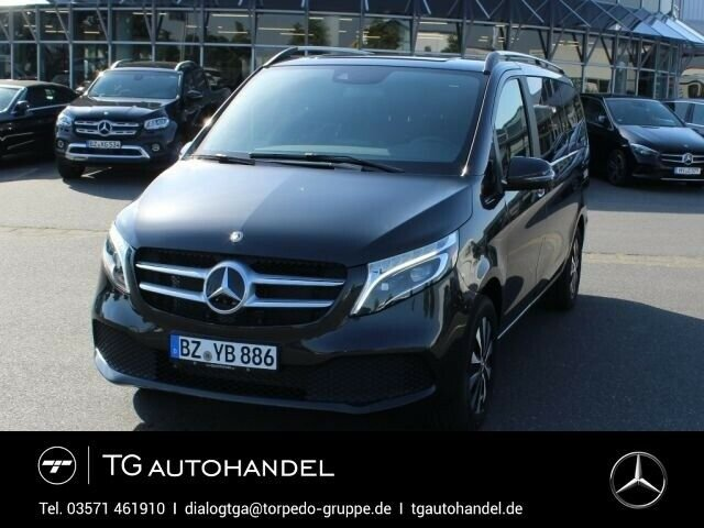 Mercedes-Benz V 300 EDITION L+4MATIC+LED+AHK+AKT.BREMS-ASSIST, Jahr 2019, diesel