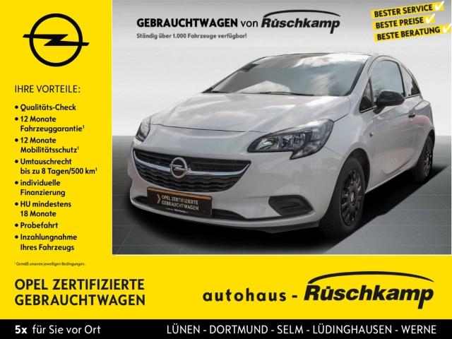Opel Corsa E Selection 1.2 Klima ESP R Black-Line Paket, Jahr 2016, Benzin