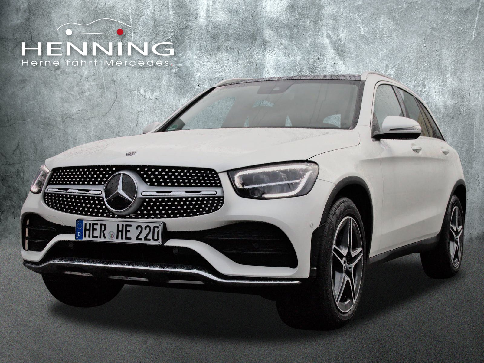 Mercedes-Benz GLC 220 d AMG 4Matic 9G Panorama LED Easy-Pack, Jahr 2019, Diesel