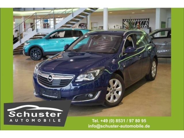 Opel Insignia A ST 1.6 CDTI Business Inno. Leder Navi, Jahr 2016, diesel