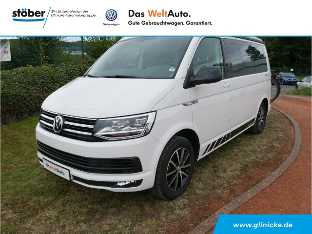 Volkswagen T6 California Beach Edition 2.0 TDI Ausstelldach+Navi+AHK abnehmbar+Standheizung+Sitzheizung, Jahr 2016, Diesel