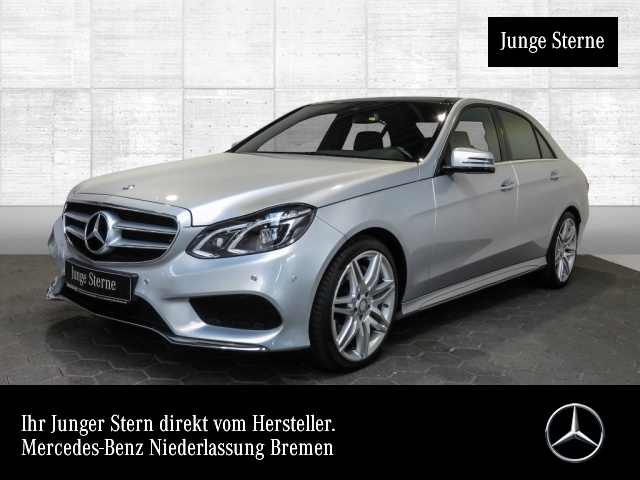 Mercedes-Benz E 500 Exkl-Paket AMG Airmat Pano Burmester COMAND, Jahr 2014, petrol
