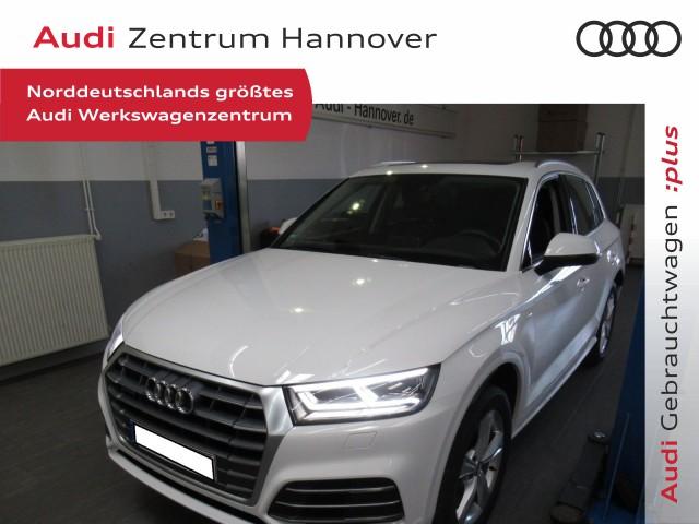 Audi Q5 40 TDI qu. sport, Pano, LED, AHK, Navi, Kamera, Jahr 2019, Diesel