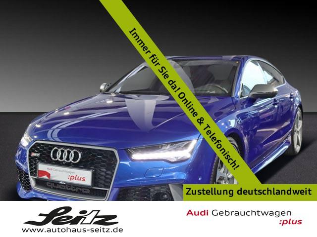 Audi RS7 Sportback 4.0 TFSI quattro performance LED NAV ACC KAM HUD KEYLESS ALU PDC XEN KLIMA, Jahr 2017, Benzin