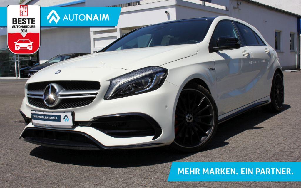 Mercedes-Benz AMG A 45 4Matic AMG Speedshift 7G-DCT |PANORAMA|AMG ABGASANLAGE|, Jahr 2016, Benzin